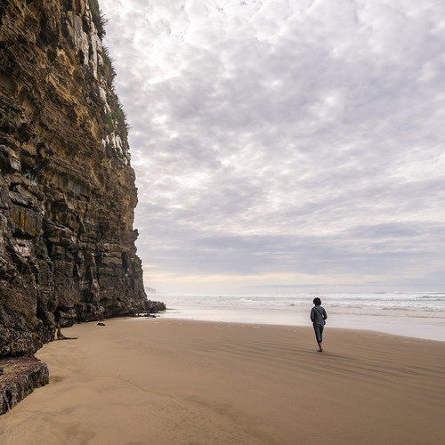 Visiting Cathedral Caves, Catlins